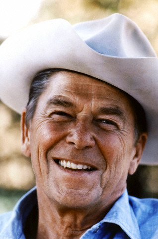 File Photo - Ronald Reagan
