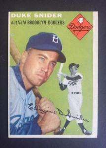 Duke baseball card